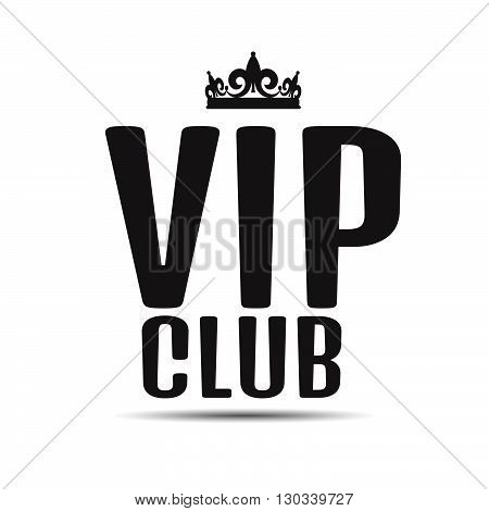 Vip Club Logo Text