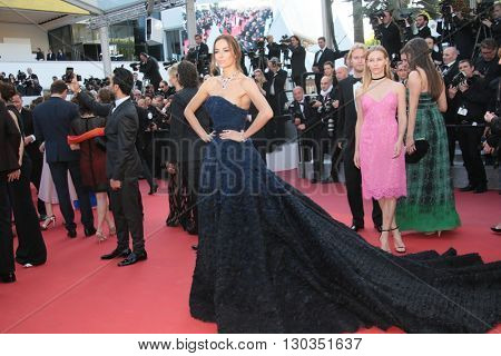 Carolina Parsons attends a screening of 'Julieta' at the annual 69th Cannes Film Festival at Palais des Festivals on May 17, 2016 in Cannes, France.