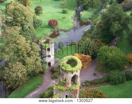 View From Blarney Castle In Ireland