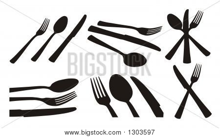 Spoon, Knife, Fork
