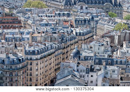 Paris Roofs And Building Cityview