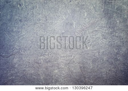 Dark gray Stucco in grunge style. Natural surface background and wallpaper.