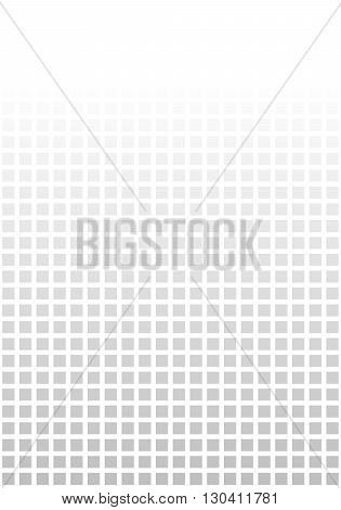 Seamless background with black and grey pixels and color transition