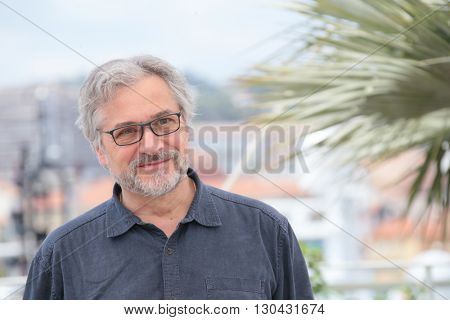 Director Michael Dudok de Wit attends 'The Red Turtle' photocall during the 69th Annual Cannes Film Festival on May 18, 2016 in Cannes, France.