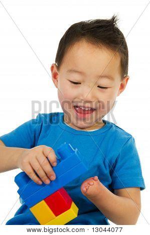 Happy Chinese Boy