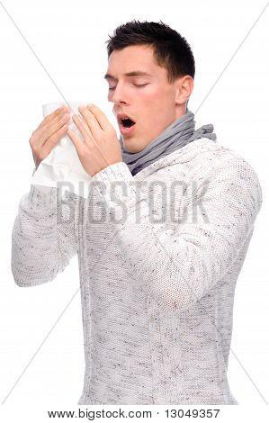 Man With Handkerchief