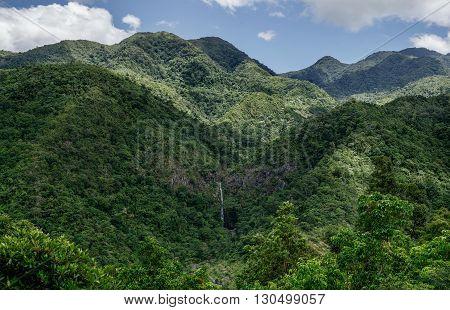 MOUNTAIN RANGE, PHILIPPINES, NEGROS OCCIDENTAL, DON SALVADOR BENEDICTO