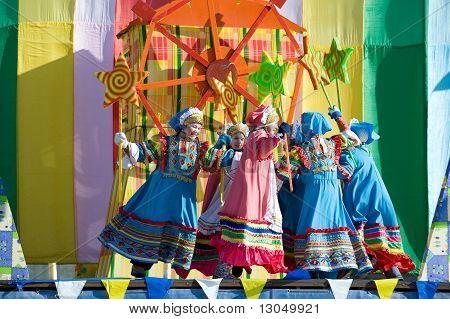 Folk Dances At Shrovetide