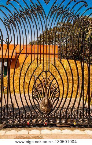 The Lotus Temple, Located In New Delhi, India, Openwork Lattice