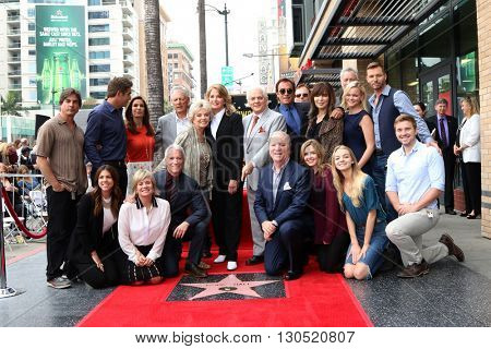 LOS ANGELES - MAY 19:  Deidre Hall, DOOL Cast, Greg Meng, Ken Corday at the Deidre Hall Hollywood Walk of Fame Ceremony at Hollywood Blvd. on May 19, 2016 in Los Angeles, CA