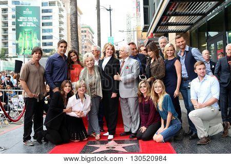 LOS ANGELES - MAY 19:  Deidre Hall, DOOL Cast at the Deidre Hall Hollywood Walk of Fame Ceremony at Hollywood Blvd. on May 19, 2016 in Los Angeles, CA