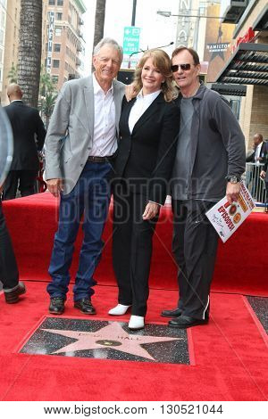 LOS ANGELES - MAY 19:  Wayne Northrup, Deidre Hall, Josh Taylor  at the Deidre Hall Hollywood Walk of Fame Ceremony at Hollywood Blvd. on May 19, 2016 in Los Angeles, CA