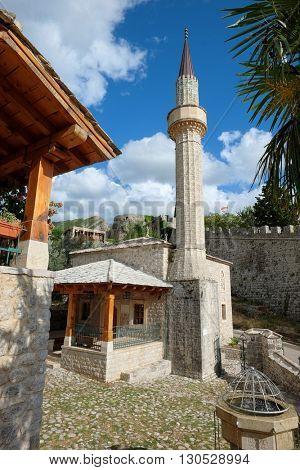 Skanjevica Mosque in Stari Bar, Montenegro