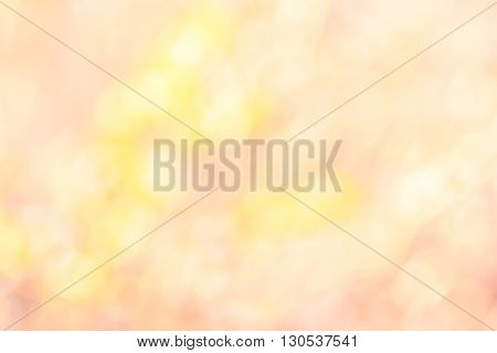 Beautiful sparkling abstract nature bokeh background defocused