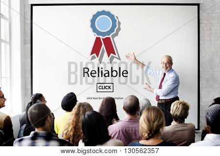Reliable Commitment Consistency Dependable Concept poster