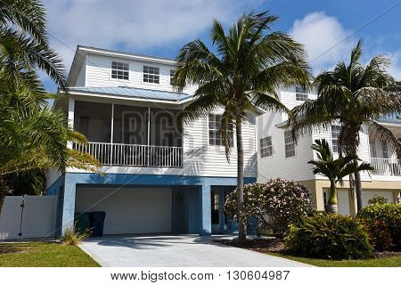 Large Two-Story Beach House with screened in porch
