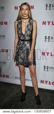 LOS ANGELES - MAY 12:  Delilah Belle Hamlin at the NYLON Young Hollywood May Issue Event at HYDE Sunset on May 12, 2016 in Los Angeles, CA