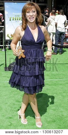 Cheri Oteri at the Los Angeles premiere of 'Shrek 3' held at the Mann Village Theater in Westwood, USA on May 6, 2007.