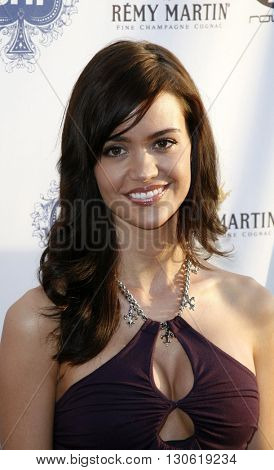 April Scott at the 2nd Annual Celebrity Poker Tournament to Benefit The Urban Health Institute held at the Playboy Mansion in Holmby Hills, USA on April 28, 2007.