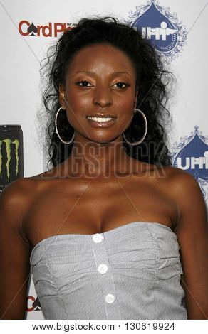 Trenyce at the 2nd Annual Celebrity Poker Tournament to Benefit The Urban Health Institute held at the Playboy Mansion in Holmby Hills, USA on April 28, 2007.