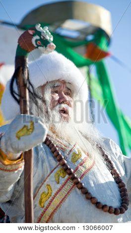 White Old Man (buryat Mongolian Santa)
