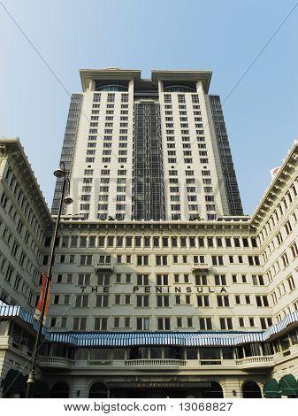 The Peninsula Hotel in Hong Kong