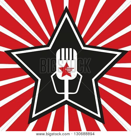 Super star. Star banner background. Star Shape. Success Superstar Winning Vector Concept. Leader boss star Concept. Sport star Concept. Movie star Concept. Business star Concept. Vector illustration