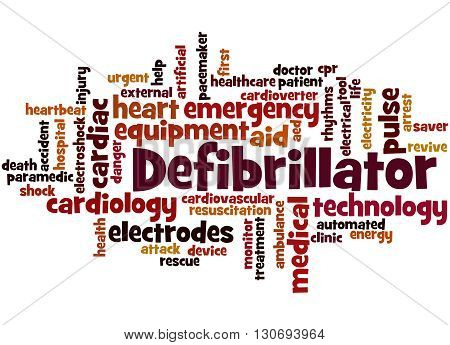 Defibrillator, Word Cloud Concept 9
