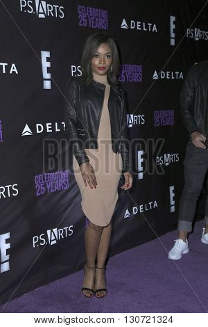 LOS ANGELES - MAY 20:  Zuri Hall at the PS Arts - The Party at NeueHouse Hollywood on May 20, 2016 in Los Angeles, CA