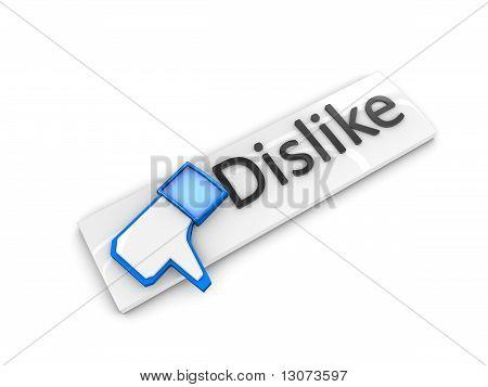 Dislike Web Button