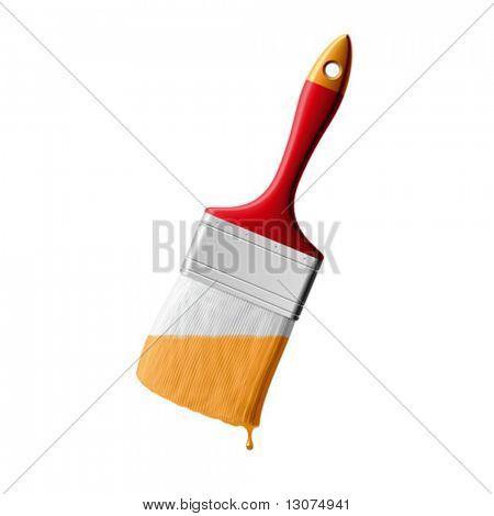Vector paintbrush
