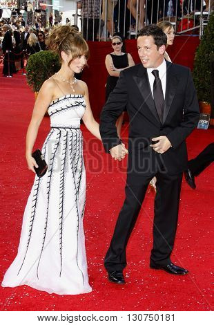 Jennifer Love Hewitt at the 60th Primetime Emmy Awards held at the Nokia Theater in Los Angeles, USA on September 21, 2008.