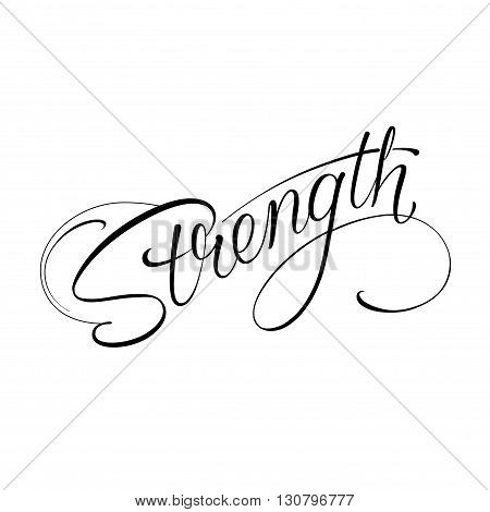 Infinity strength icon valentines day vector tattoo symbol
