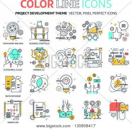 Color Line, Business Illustrations