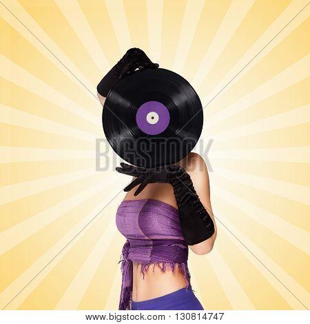 Behind Purple Vinyl.
