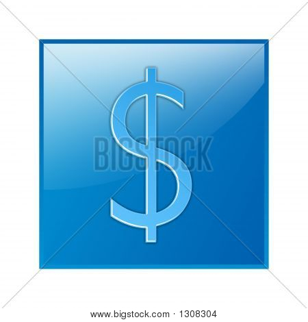 Dollar, Sign, Icon