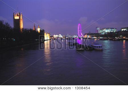 Thames At Night 2
