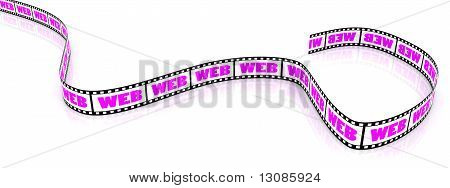 Colored WEB film