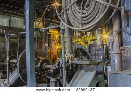 Machinery Work Room