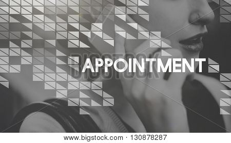 Appointment Schedule Agenda Meeting Plan Assignment Concept