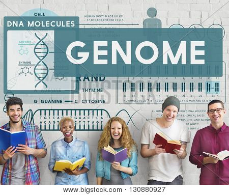 Genome Coding Biology Cell DNA Identity Stem Concept