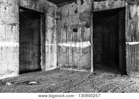 abandoned building creepy place darkness horror creepy and halloween background