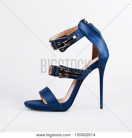 Stylish Female Blue Shoes