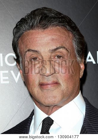 NEW YORK-JAN 5: Actor Sylvester Stallone attends the 2015 National Board of Review Gala at Cipriani 42nd Street on January 5, 2016 in New York City.