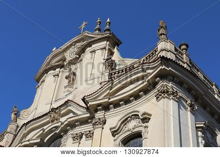 St. Nicholas Church of Mala Strana in Prague
