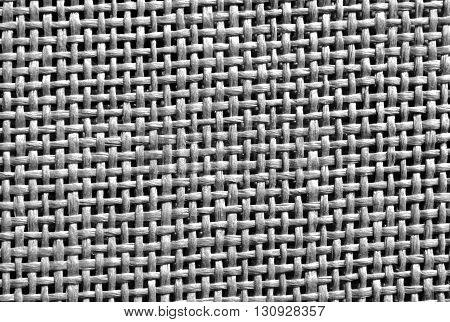 Abstract Black And White Braided Texture