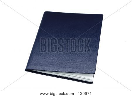 Isolated Blank Booklet