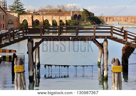 Arsenal Of Venice. Italy