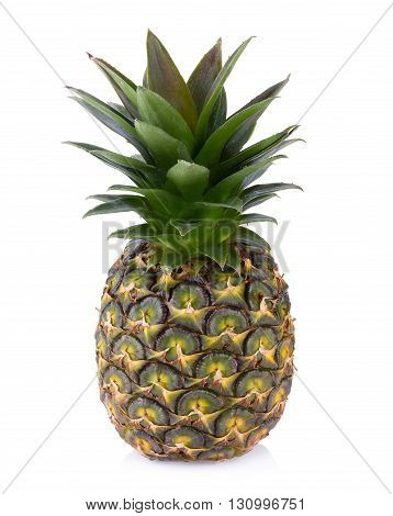 Pineapple fruit, Pineapple isolated on white background.