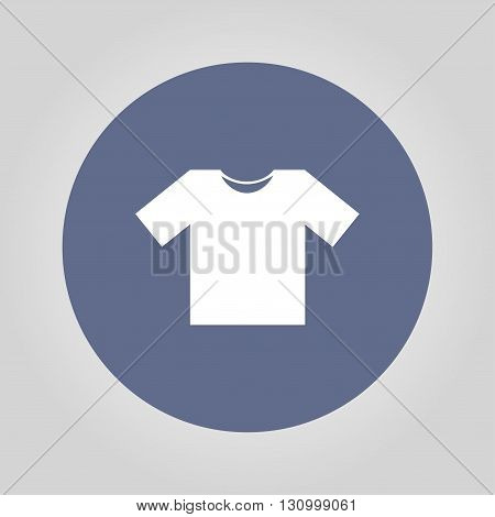 Tshirt Icon icon vector illustration. Flat design style